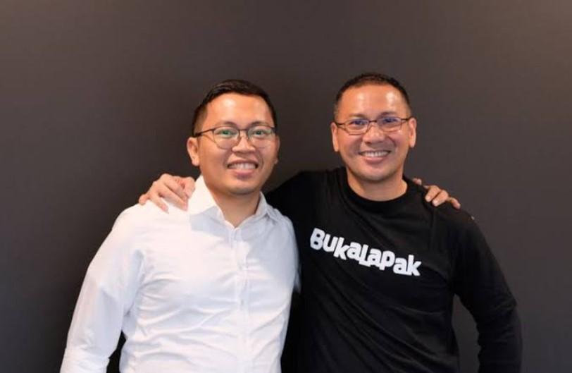 Mantan CEO BukaLapak Achmad Zaky dan Rachmat Kaimuddin sebagai CEO baru (gstatic.com)
