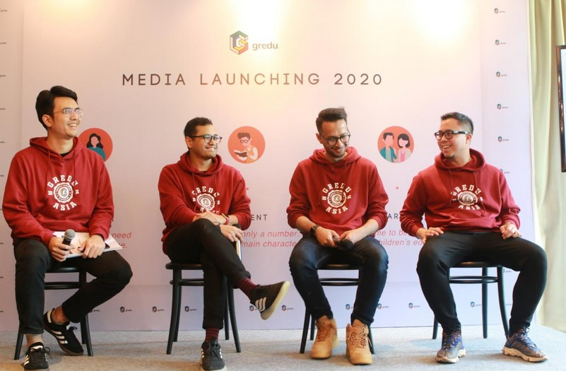 Media Launching Gredu Indonesia (LinkedIn/Gredu)