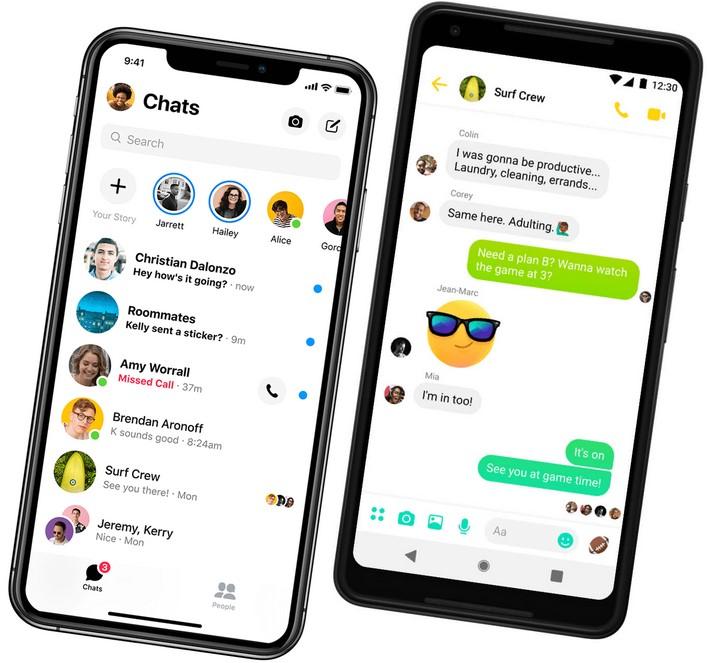 Aplikasi Messenger (Messenger)