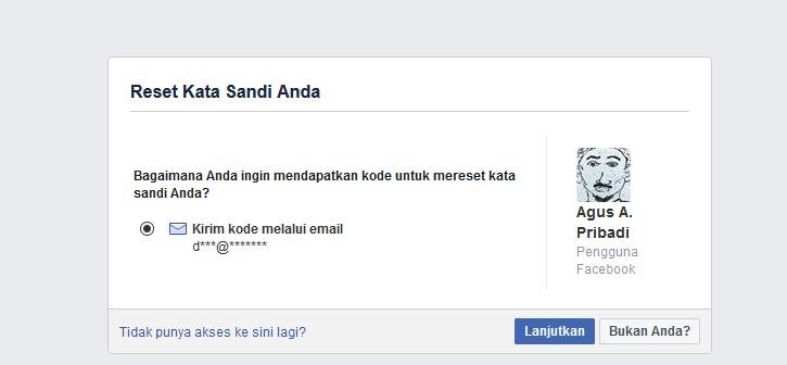 Cara Mengubah Sandi Facebook Nomer Tidak Aktif Dan Lupa Email Pengin Tahu Droila