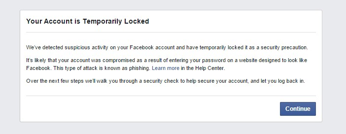 Akun Facebook diblokir FB (Quora)