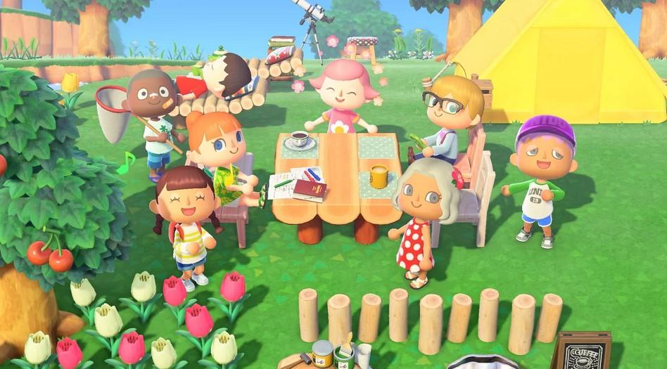 Game Animal Crossing: New Horizon (Polygon)