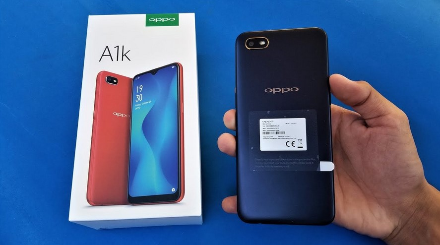 Unboxing Oppo A1k (YouTube)