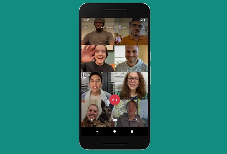 Video Call WA lebih dari empat orang (The Sun)