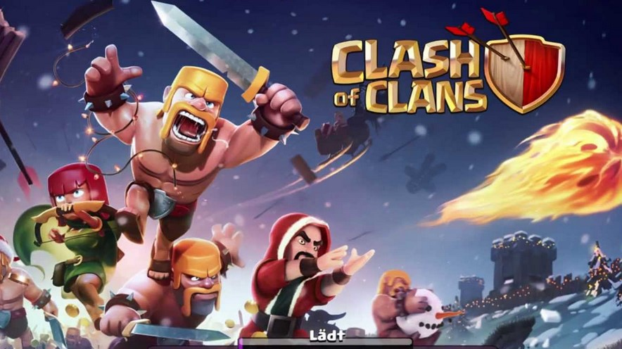 Game Clash of Clans (Facebook)