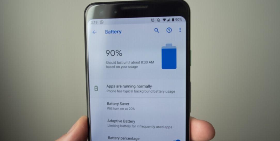Kapasitas baterai HP (Android Authority)