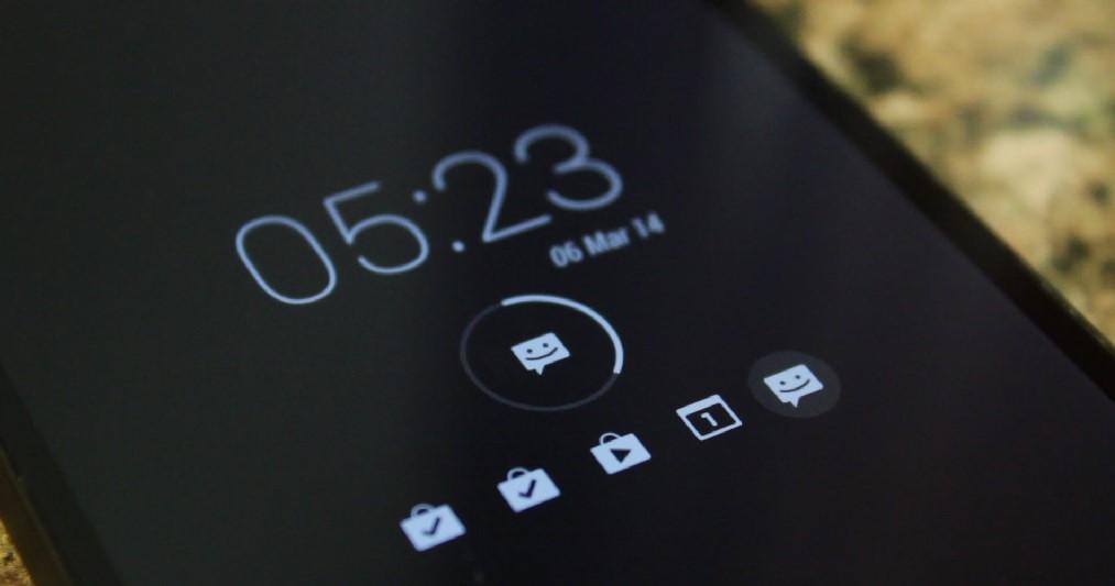 Layar terkunci pada HP Android (FreshLookApp)