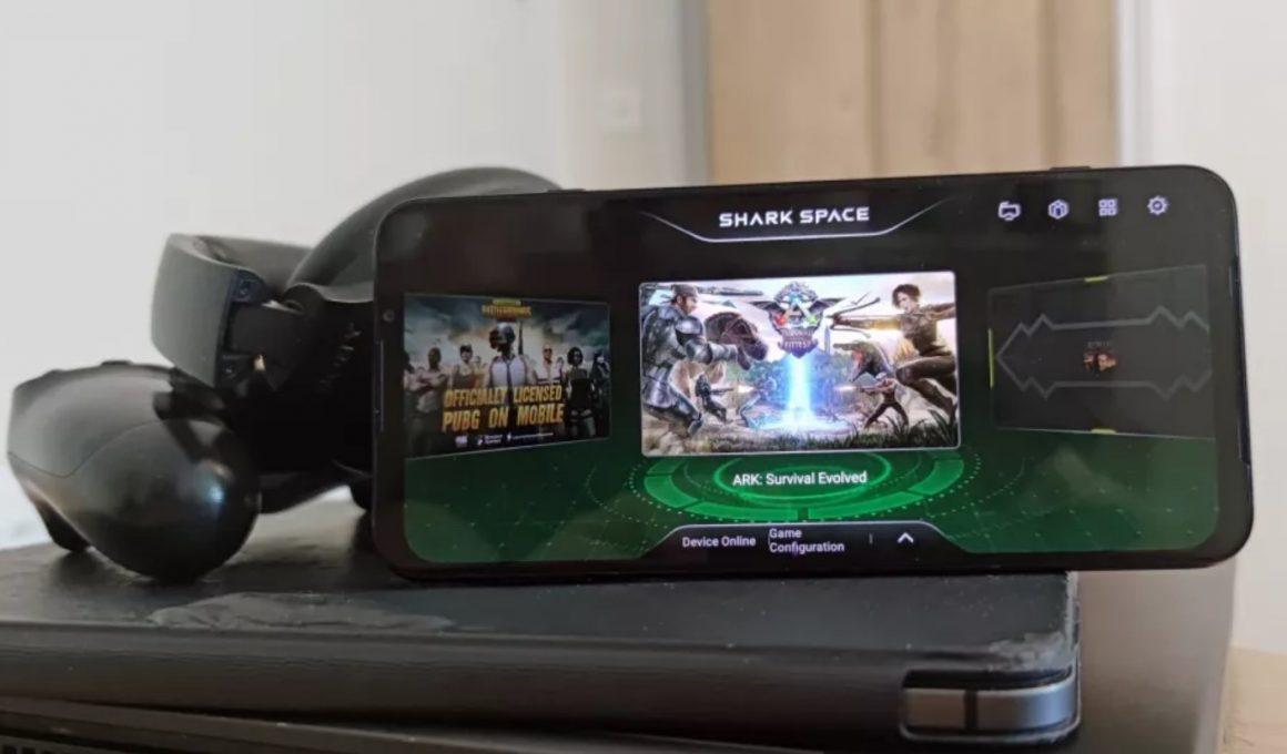 Performa gaming Black Shark 3 (TechRadar_