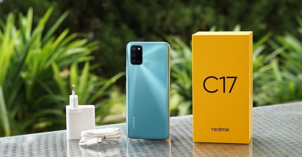 Isi box Realme C17 (Gizmologi)