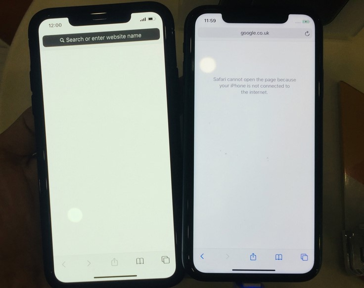Cacat pada layar iPhone 11 Pro (Macrumor)