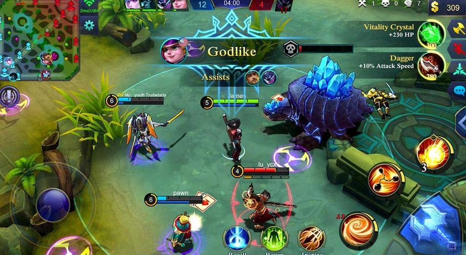 Gameplay Mobile Legend (Medcom)