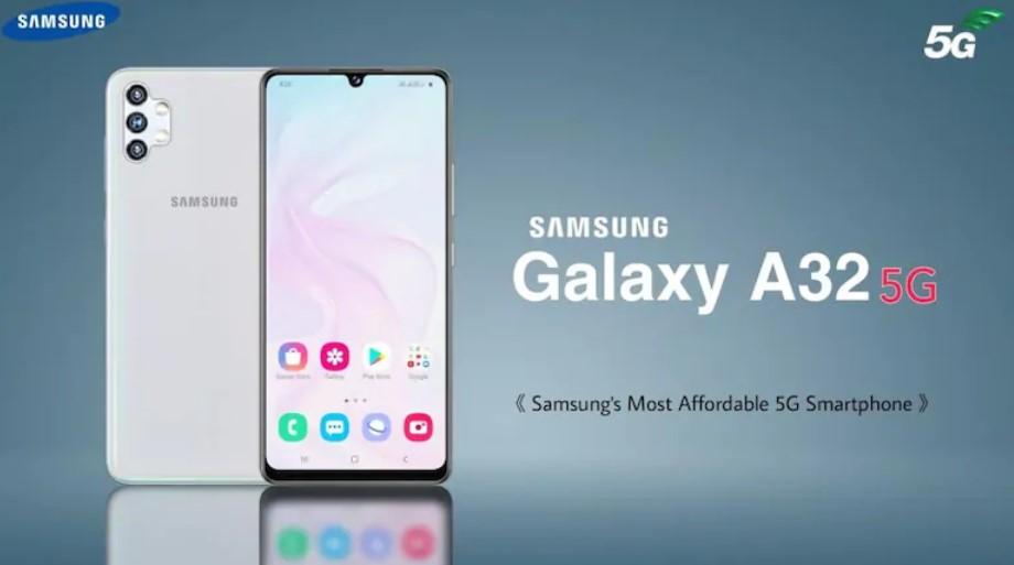 Iklan produk Galaxy A32 5G (IndiaToday)