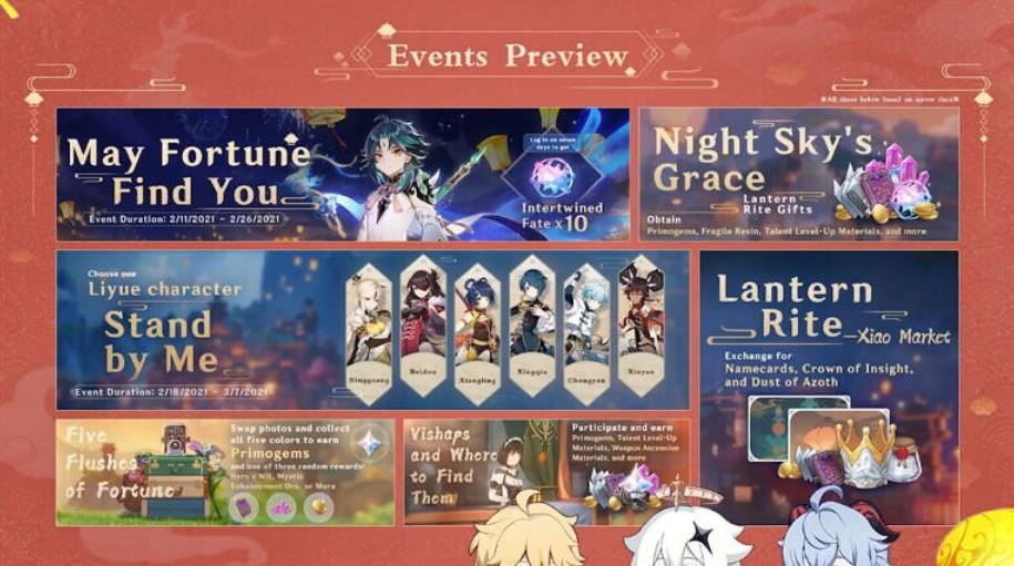 Update Genshin Impact patch 1.3 (YouTUbe)