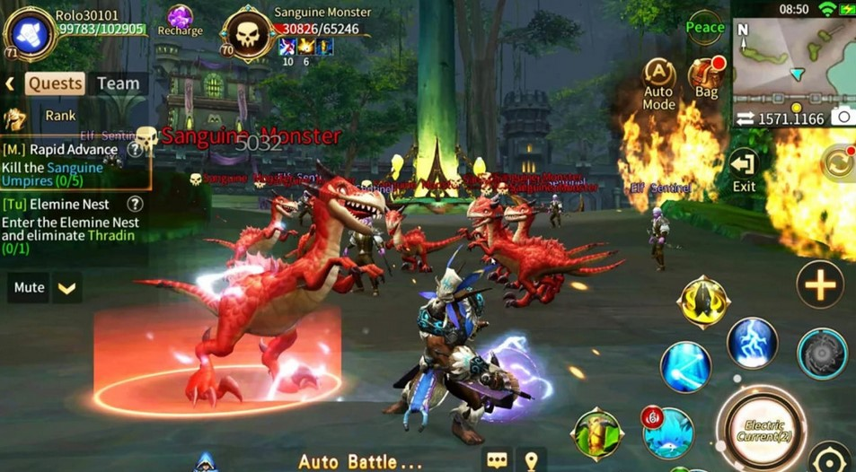 Game MMORPG Android open world (Android Authority)