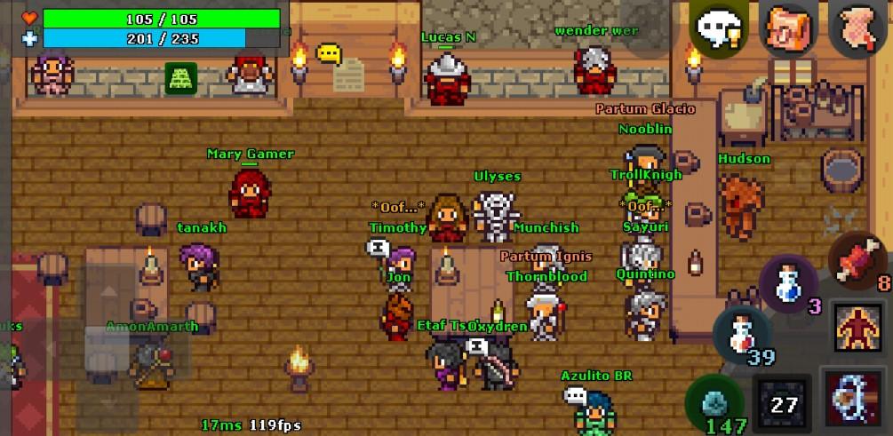 MMORPG ringan Android (Play Store)