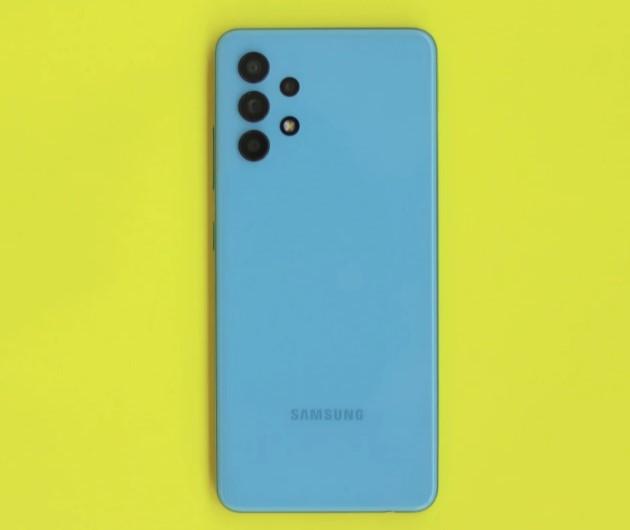 Desain belakang Galaxy A32 (SamMobile)