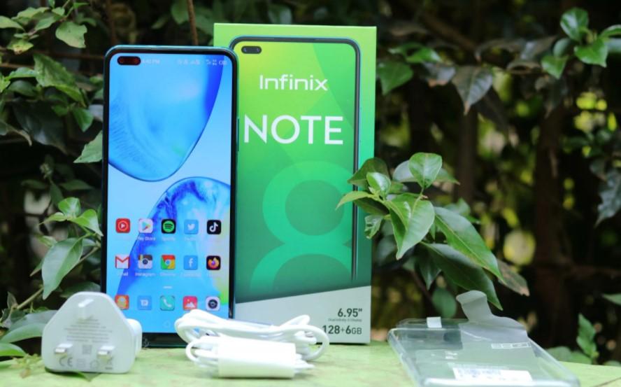 HP Infinix Note 8 (TechWeez)