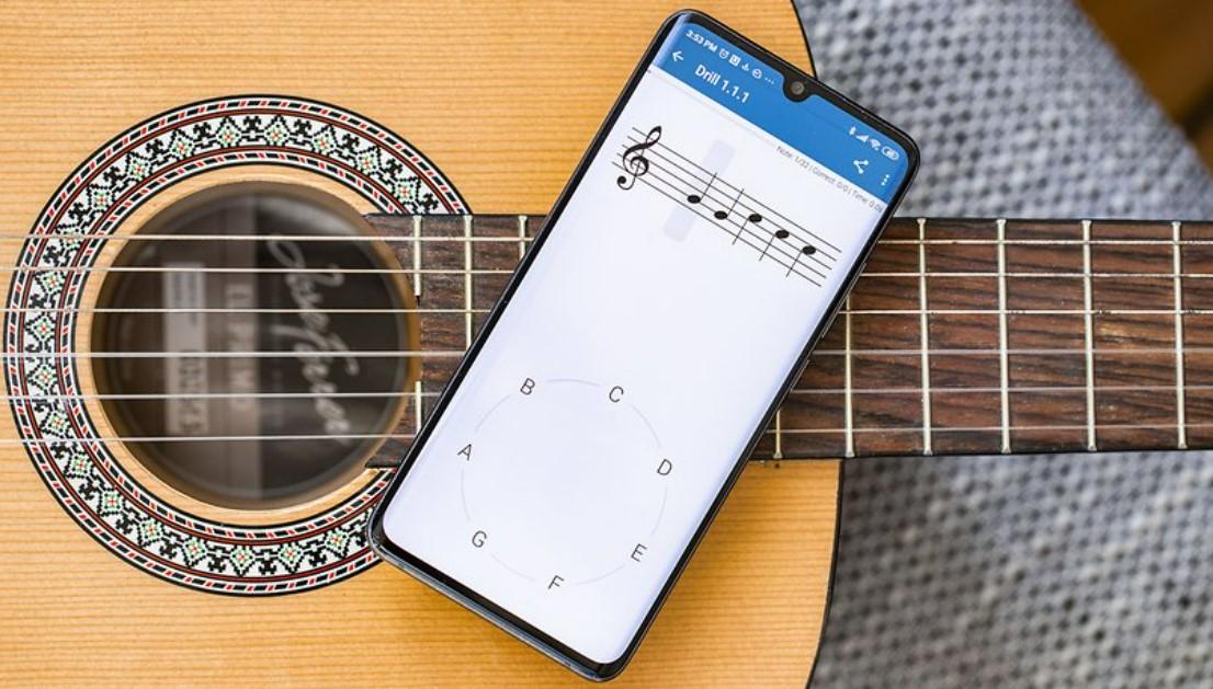 aplikasi belajar main gitar (Nextpit)