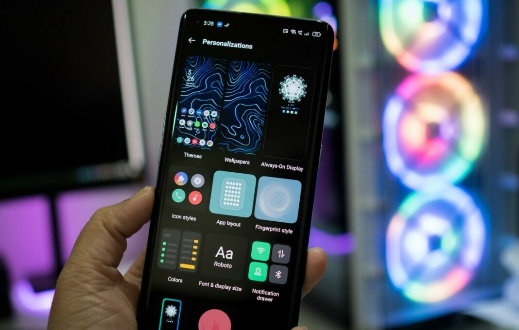 pembaruan android 11 oppo (Android Central)